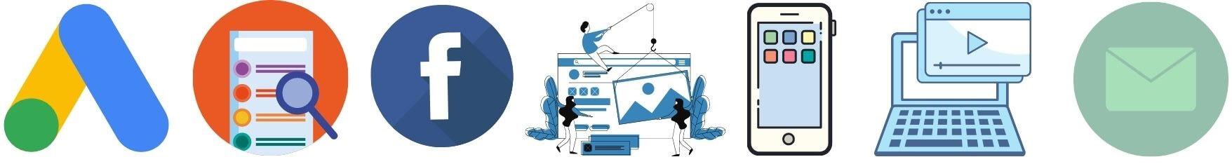 7 reklamos internete metodai: infografikas